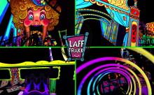 LAFF TRAKK: Spinning Glow-Coaster