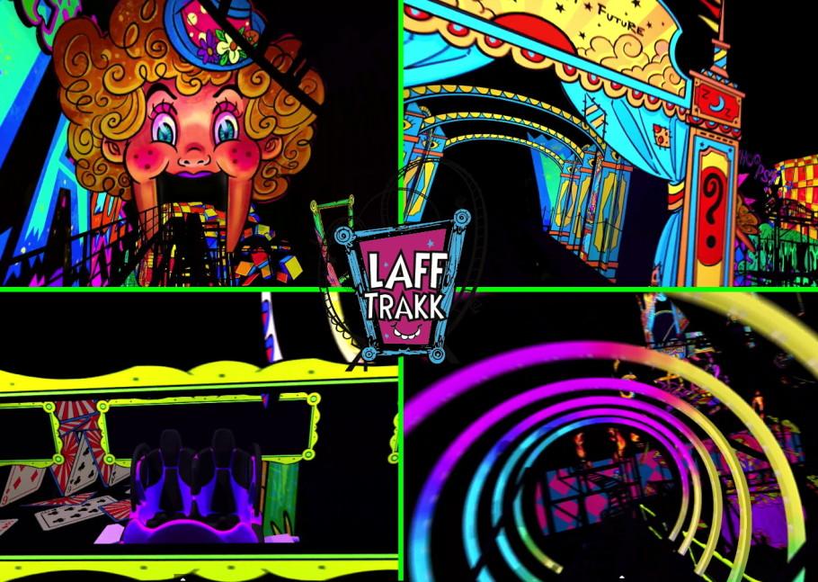 Laff Trakk Spinning Glow Coaster La Propoint